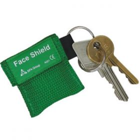 HypaGuard Face Shield in Key Fob