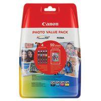 CANON CLI-526 INKJET CARTRIDGES PK4