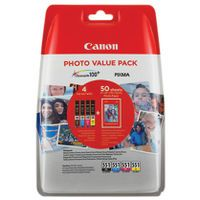CANON CLI-551 INK VALUE PACK KCMY