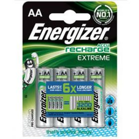 Energizer 1.2V  AA Rechargeable Battery [Pack of 4]