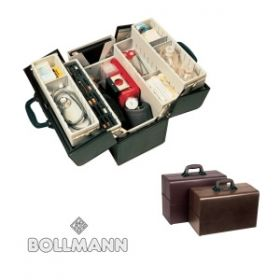 Bollmann Concertina Case, Deep Base, Grey Leatherette