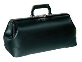 Bollmann Practicus Leather Case, Black [Pack of 1]