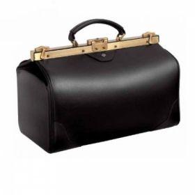 Bollmann Assista Scratch Resistant Large Leather Case, Black