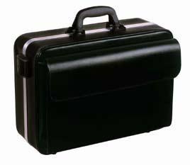 Bollmann Nova Case, Grey Leatherette