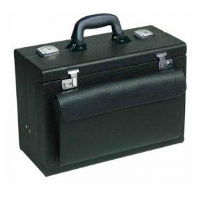 Bollmann Medica 2000 Leather Case, Burgundy