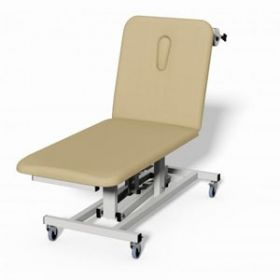Plinth 2000 2 Section Electric Treatment Couch - CREAM