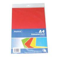 WEST DESIGN A4 CARD 8SHEET ASTD PK10