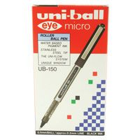 UNIBALL EYE MICRO UB150 BLK PK12
