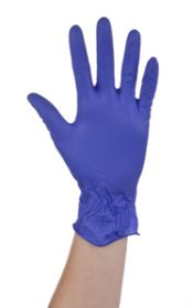 Ansell Microtouch Nitrile P/F N/S Gloves Large [Pack of 100]