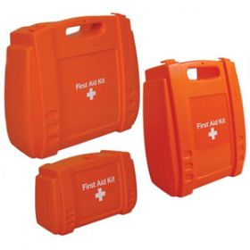 Evolution Orange First Aid Kit Medium Case, Empty