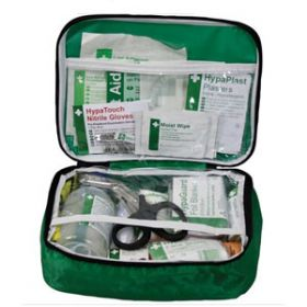 British Standard Compliant Vehicle First Aid Kit in Nylon Case