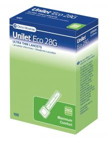 Unilet Eco Lancets 28g [Pack of 100]