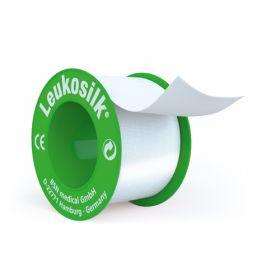 Leukosilk Tape 2.5cm X 4.6m [Pack of 12]