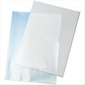 Q-Connect Cut Flush Folder A4 Pack Clear [Pack of 100]