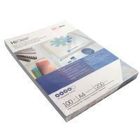 GBC HICLEAR A4 PVC BINDING COVERS
