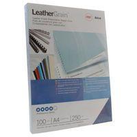 GBC LEATHERGRAIN A4 BINDING COVERS CE040029