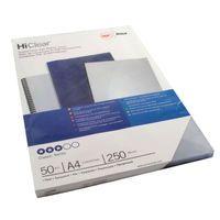 GBC ECONOMY PVC CLEAR COVERS 41605E