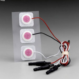 3M Red Dot Neonatal Prewired Electrode, 2282E [Pack of 300]