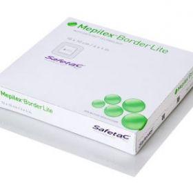Mepilex Border Lite Silicone Foam Dressing 7.5cm  X 7.5cm [Pack of 10]