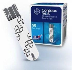 Bayer Contour Next (Xt&next) Blood Glucose Test Strips [Pack of 50]
