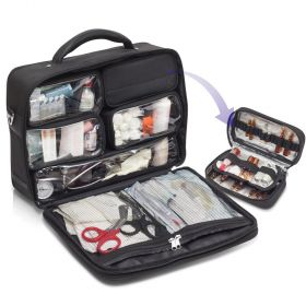 Elite Multi-Purpose GP Medical Bag – Black [Pack of 1]