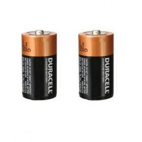 Duracell Alkaline Batteries (D) [Pack of 2]
