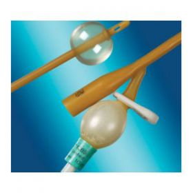 Bard Medical BA1269-18UK PTFE Coated Standard Length 2 Way Female Latex 18ch Foley Catheter with 10ml Balloon [Pack of 5]
