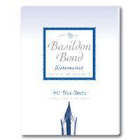 BASILDON SMALL WRITING PAD BLUE 5928