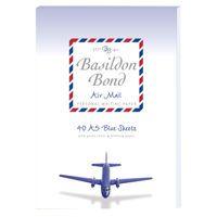 BASILDON AIRMAIL WRITING PAD BLUE K8