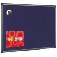 BIOFFICE BLU FELTBOARD 900X600 ALUM