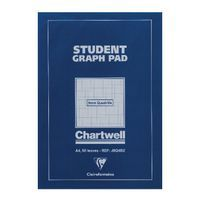 CHARTWELL STUDENT GRAPH PAD A4 BL