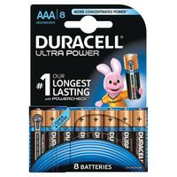 DURACELL ULTRA PWR AAA BATTERY PK8