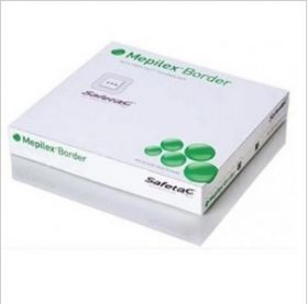 Mepilex Silicone Foam Dressing With Border 15cm X 17.5cm [Pack of 10]