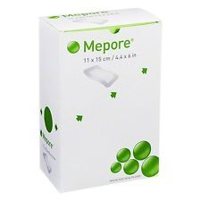 Mepore Island Absorbent Perforated Dressing 11cm x 15cm [Pack of 40]