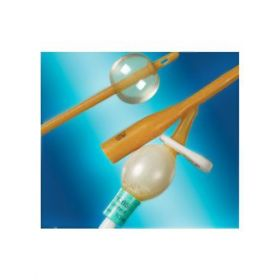 Bard Medical BA1245-14UK PTFE Coated Standard Length 2 Way Male Latex 14ch Foley Catheter with 10ml Balloon [Pack of 5]