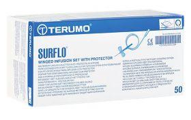 Terumo Surshield Surflo Safety Infusion Set 25g X 19mm 30cm Tube - Orange  [Pack of 50]