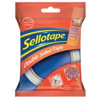 SELLOTAPE DOUBLESIDED TAPE 25MMX33M
