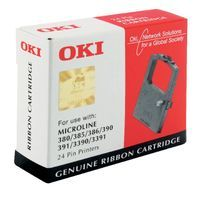 OKI ML300 24 PIN BLACK FABRICRIBBON