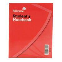SILVINE EXERCISE BOOK 8X6.4 40LF 144