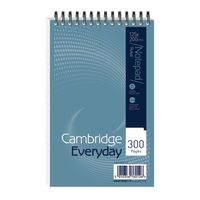 CAMBRIDGE 125X200MM SPIRAL NOTEBK300