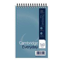 CAMBRIDGE 125X200MM SPIRAL NOTEBK 80