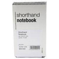 NP SHORTHAND NOTEBOOK 80LF