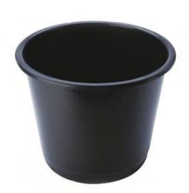 Waste Bin Polypropylene 15 Litres - Black [Pack Of 1]