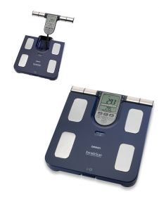 Omron Body Composition Monitor Scale - Blue [Pack of 1]