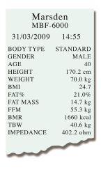 Marsden TP-2100 Printer Paper Roll [Pack Of 1]