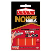 NO MORE NAILS STRIPS PERMANENT RED