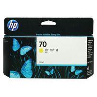 HP 70 YELLOW INKJET CARTRIDGE