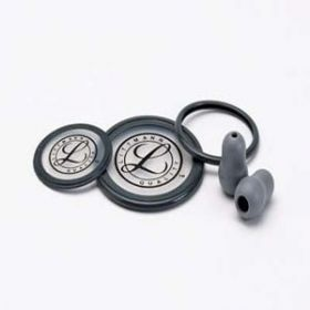 3M Littmann Stethoscope Spare Parts Kit, Cardiology III, Grey, 40004 -[Pack of 1]