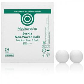 Gauze Balls Non-woven Sterile Medium [Pack of 20 X 5]