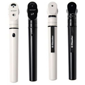 Riester E-Scope Vacuum 2.7V Ophthalmoscope - Black [Pack of 1]